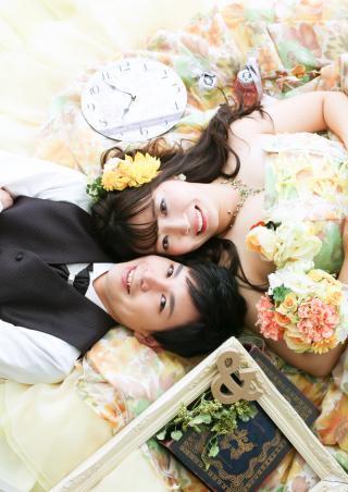 225926_愛知_色打・ウェディング・カラードレス チャペル・ガーデン撮影