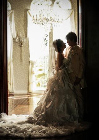201202_岐阜_婚礼写真 敷地内のロケーションなのでのびのび撮れます!3