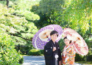 188961_岐阜_婚礼写真 敷地内のロケーションなのでのびのび撮れます!3
