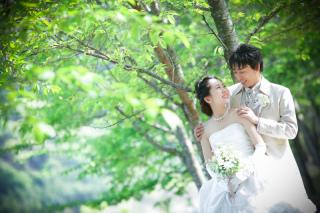 140872_岐阜_婚礼写真 敷地内のロケーションなのでのびのび撮れます!