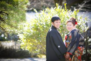 186632_岐阜_婚礼写真 敷地内のロケーションなのでのびのび撮れます!3
