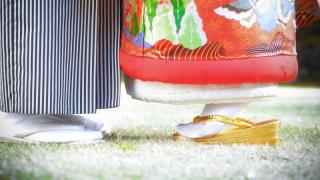 201205_岐阜_婚礼写真 敷地内のロケーションなのでのびのび撮れます!3