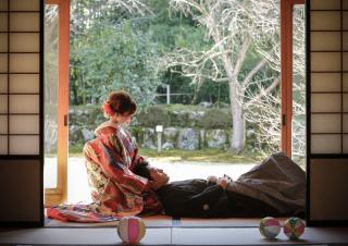 132271_岐阜_婚礼写真 敷地内のロケーションです!