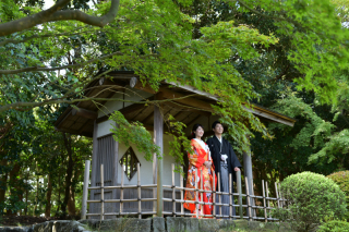 230711_千葉_見浜園*広い敷地がある緑豊かな日本庭園です*