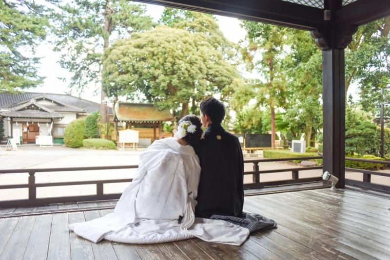中野 沼袋氷川神社 結婚式