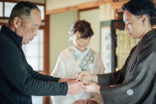 345088_滋賀_大切な家族との記念写真<Family wedding>