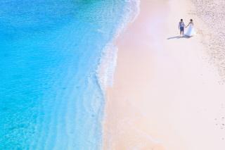 271925_沖縄_エメラルドグリーンの海と一緒に!<ビーチロケ撮影①>