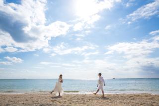 267492_沖縄_快適にリゾート体験☆中南部の素敵なビーチフォトロケーション