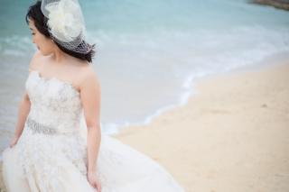 343979_沖縄_エメラルドグリーンの海と一緒に!<ビーチロケ撮影①>
