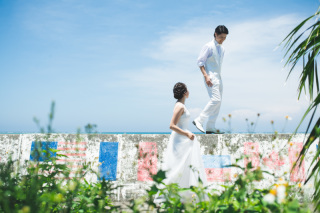 267473_沖縄_快適にリゾート体験☆中南部の素敵なビーチフォトロケーション