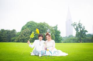 150976_東京_《ドレス》屋外ロケーション〜Day time〜