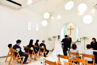 小さなチャペル結婚式(桐生スタジオ)