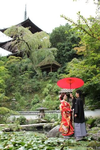 189978_奈良_當麻寺 和装ロケーション