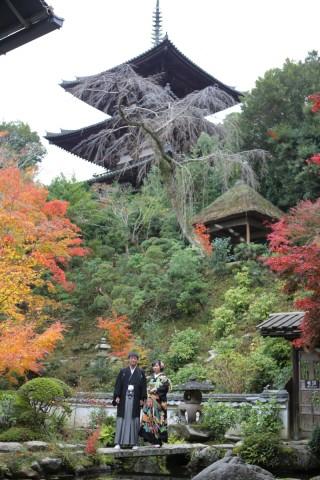 161624_奈良_當麻寺 和装ロケーション