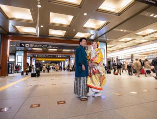 223371_石川_ハートスタジオ金沢からスグ!魅力溢れる金沢駅でロケーションフォト