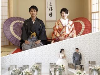 平日撮影限定 和装+洋装撮影プラン✨お茶室とチャペルにて撮影!7月8月限定で¥150,000(組数限定✨)