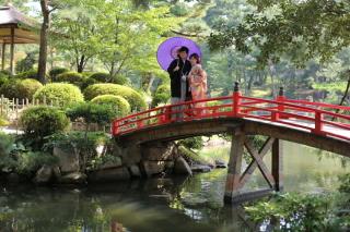 180284_広島_和装縮景園撮影