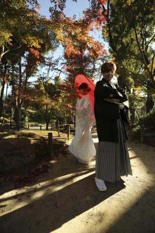 180496_広島_和装縮景園撮影