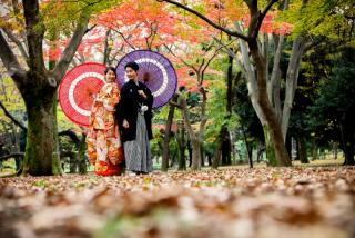 190378_東京_和装庭園ロケーション(紅葉)