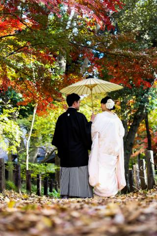 190383_東京_和装庭園ロケーション(紅葉)