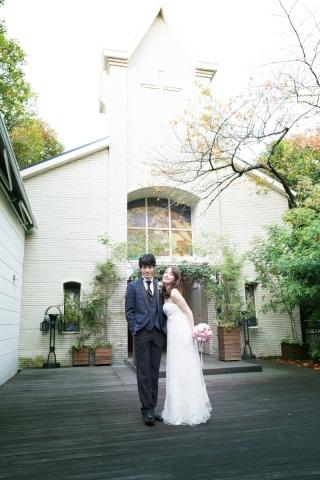 138022_東京_シンプルウェディング ガーデンチャペル&フォレストチャペル