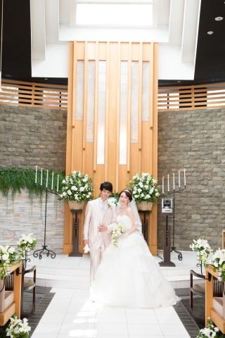 65422_東京_シンプルウェディング ガーデンチャペル&フォレストチャペル