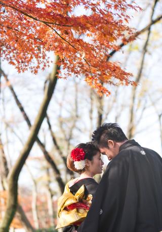 149283_埼玉_和装ロケ 桜&紅葉