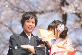 183141_埼玉_和装ロケ 桜&紅葉