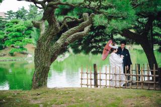 317350_香川_栗林公園@白無垢
