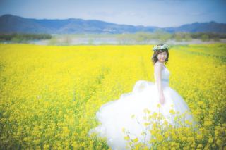 64222_徳島_花のロケーション撮影