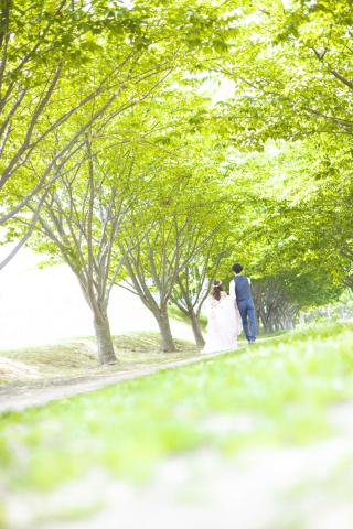 151976_徳島_洋装(ロケーション・徳島城公園)