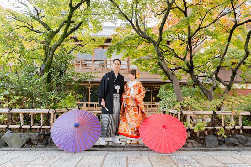 京都祇園 三々九度