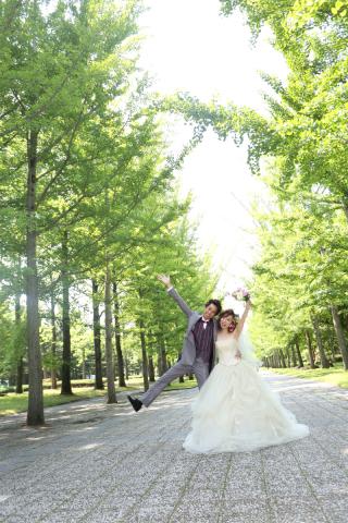 100148_山形_ロケーション(総合運動公園) ドレス&タキシード