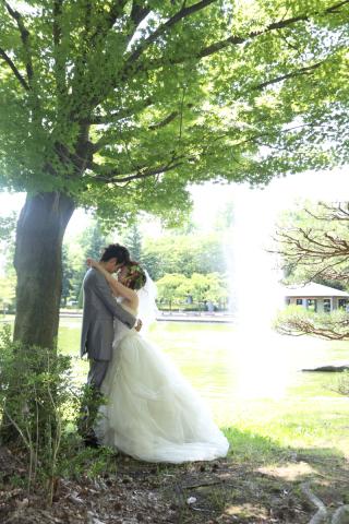 100150_山形_ロケーション(総合運動公園) ドレス&タキシード