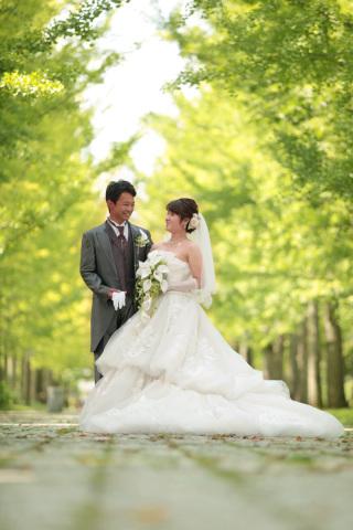 257014_山形_ロケーション(総合運動公園) ドレス&タキシード