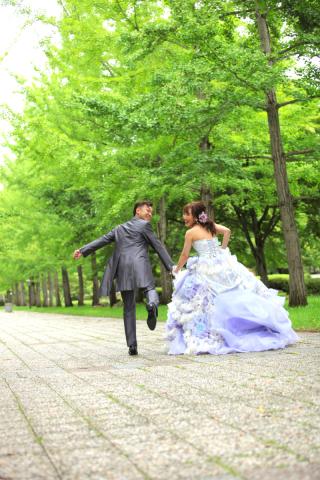 167360_山形_ロケーション(総合運動公園) ドレス&タキシード