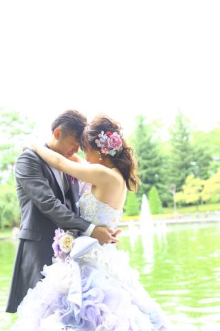 167356_山形_ロケーション(総合運動公園) ドレス&タキシード