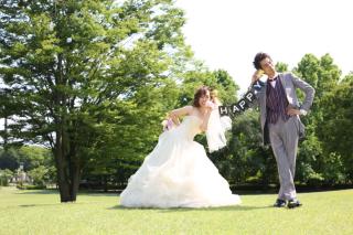 100149_山形_ロケーション(総合運動公園) ドレス&タキシード