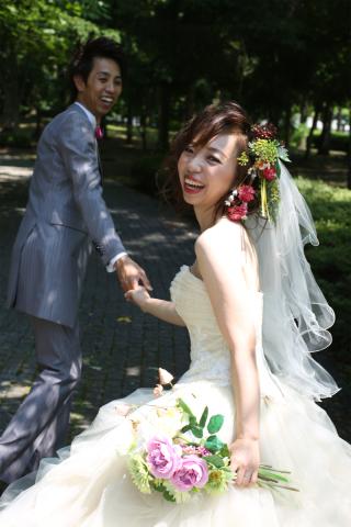 100146_山形_ロケーション(総合運動公園) ドレス&タキシード