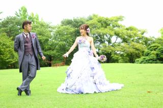 167359_山形_ロケーション(総合運動公園) ドレス&タキシード