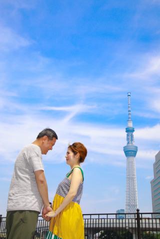 158508_東京_エンゲージメント都内ロケ