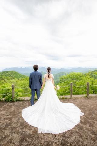 378743_長野_新緑 洋装 ロケーションフォト