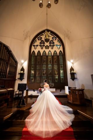 【大聖堂で叶える!】写真だけの結婚式:チャペルプラン