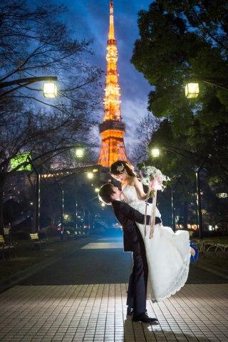 【定番ロケーション!】東京タワー 洋装ロケーション