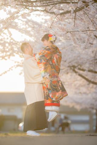 222111_山形_桜の時期の前撮り撮影