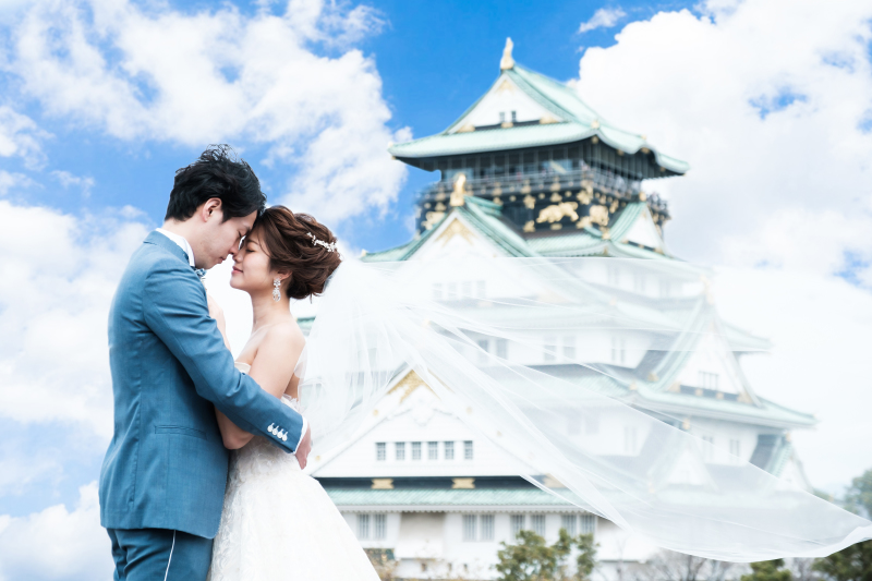 One PHOTOWEDDING OSAKA-JO_トップ画像4