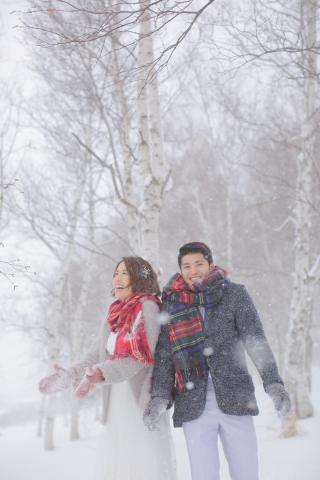 248166_北海道_【雪ロケフォト-冬winter】北海道ならではの幻想的な一枚を