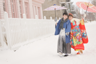 248164_北海道_【雪ロケフォト-冬winter】北海道ならではの幻想的な一枚を
