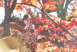 341573_群馬_和装紅葉とスタジオドレス