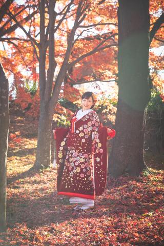 341574_群馬_和装紅葉とスタジオドレス